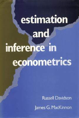 Estimation and Inference in Econometrics By Davidson, Russell/ Mackinnon, James G.